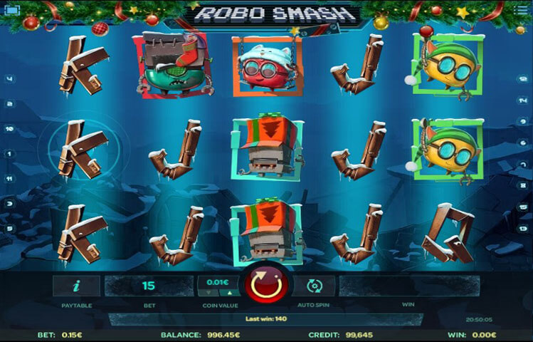 Robo Smash Slot Machine - Play Online Slots for Free