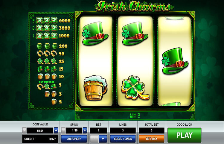 Irish Charms Game