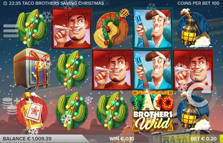 Taco Brothers Saving Christmas - Mobil6000